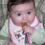 Baby Diva as Jackson Pollock: Starting Solid Foods