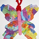 Butterfly Craft for Child Victims of the Holocaust