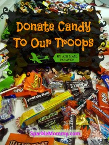 Donate Candy to Soldiers Troops