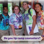 Do You Tip Camp Counselors?