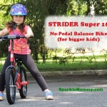 Strider 16 No-Pedal Balance Bike for School Age Kids