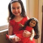 What a Doll–Matching Doll and Girl Outfits for the Holidays!