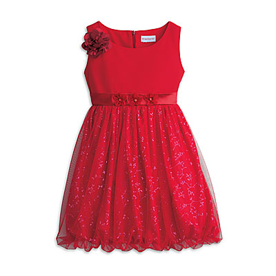 American Girl Sparkle Holiday Party Dress